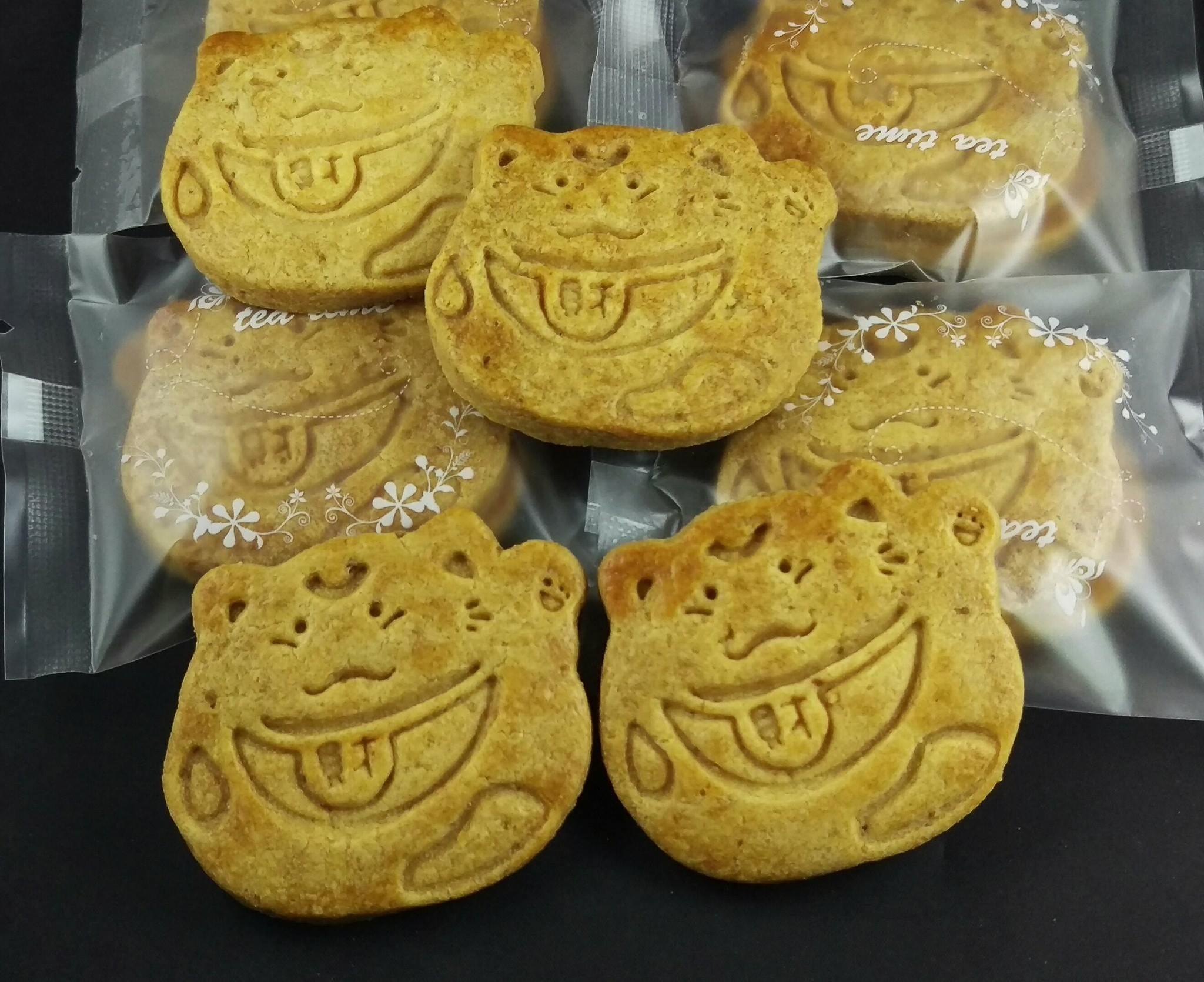 【簡單美味工坊】招財貓造型餅乾